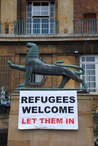 Solidarity With Migrants, Norwich, City Hall, 12 July 2016