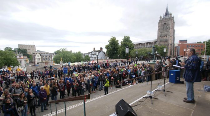 We are all migrants – Norwich Solidarity Rally with International Immigrants