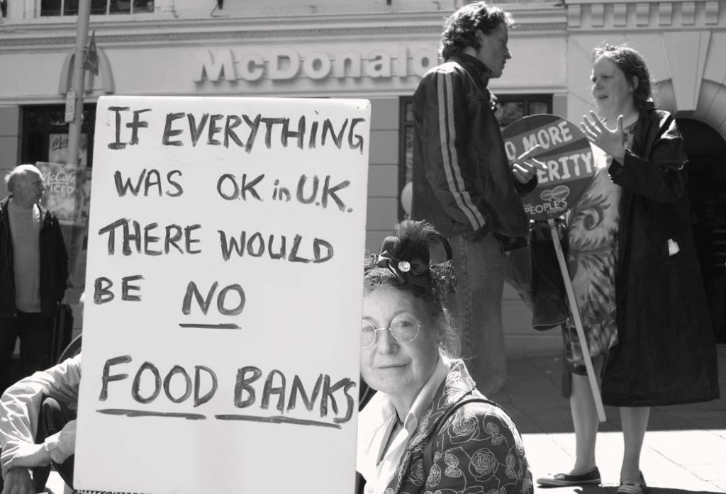 Norfolk Peoples Assembly Anti-Austerity Demo, Norwich Haymarket, 30 May 2015