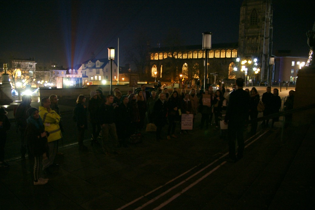 Norwich Save Aleppo Rally