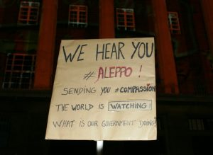 We hear you Aleppo