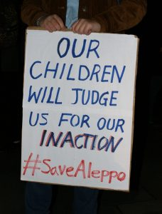 Save Aleppo not inaction