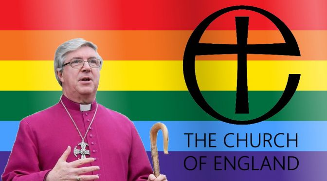 LGBT Church of England report Bishop Graham James
