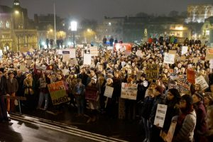 Norwich Donald Trump anti-racist Muslim ban protest