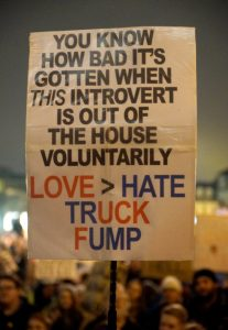 Introvert's Love greater than Hate, Truck Fump!
