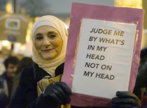 Judge me by what's in my head not on my head