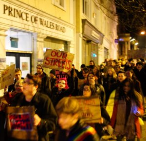 Prince of Wales Road, Reclaim the Night