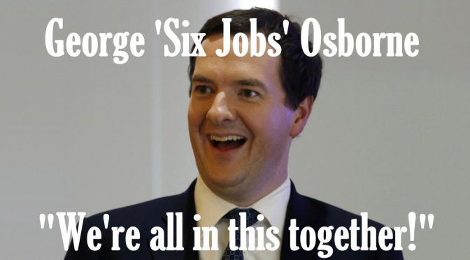 George Osborne 6 jobs