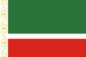 Chechen Republic, Chechnya Flag