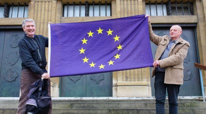 Article 50 Brexit EU Resistance Norwich Rally