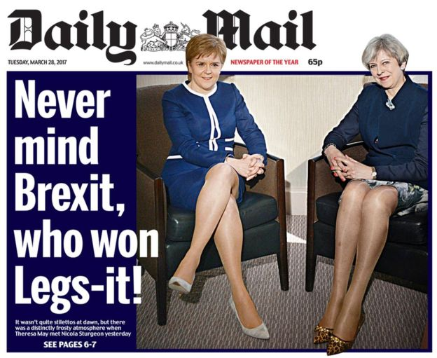 Daily Mail LegsIt not Brexit