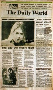 Kurt Cobain - the Day the Music Died
