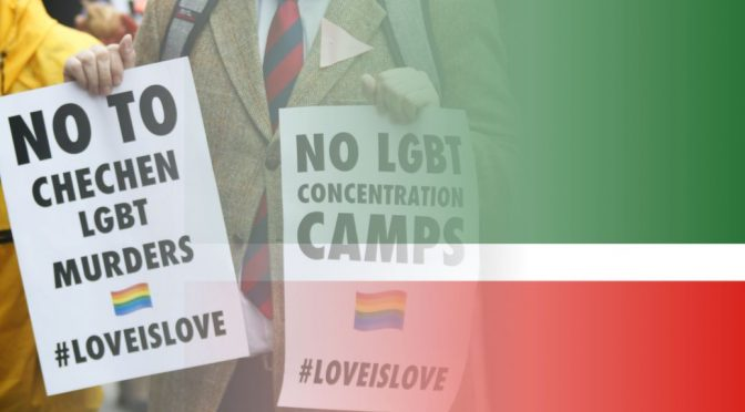 Protests continue at Chechnya Homophobia, Gay-Bisexual Torture & Killing