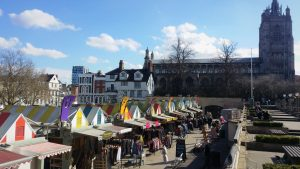St Peter Mancroft and Norwich Market