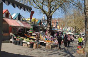 Norwich Market, Gentleman's Walk