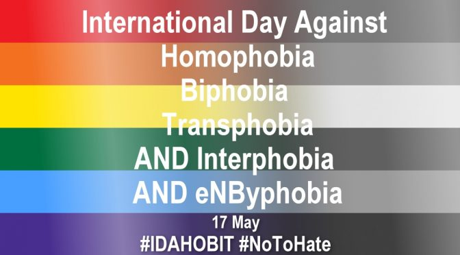 IDAHOBIT Day needs further evolution to combat Non-Binary enbyphobia