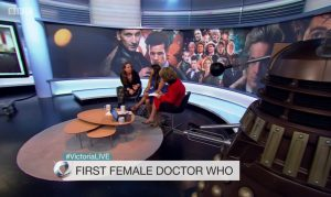 Doctor Who, Victoria Derbyshire BBC2, 17-07-17