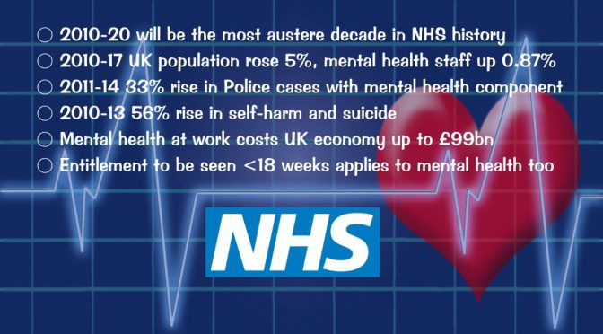 Lies, Damned Lies & Tory Jeremy Hunt's Mental Health NHS Statistics