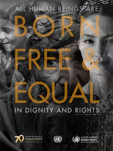 All Human Beings are Born Free and Equal in Dignity and Rights UDHR