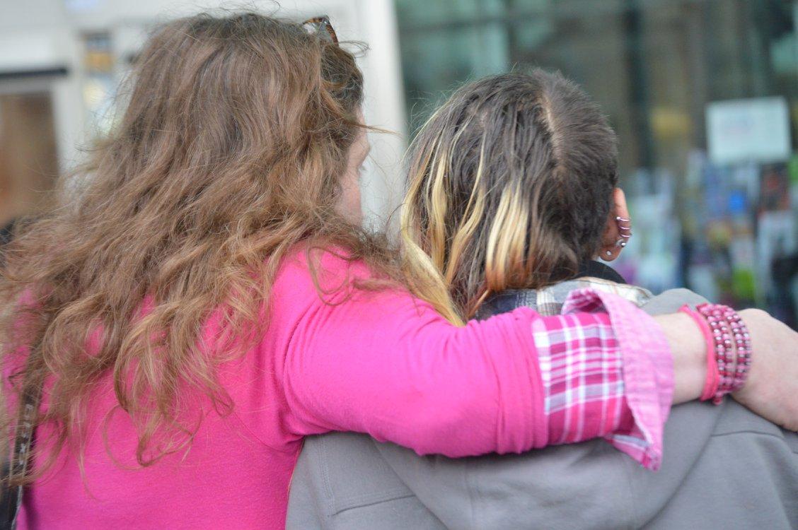 Hugs by Ann Nicholls