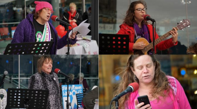 One Billion Rising, Norwich rises up to say Time's Up on VAWG & DASV