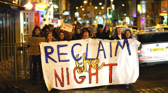 Norwich Reclaim the Night 2018. Photo © Katy Jon Went