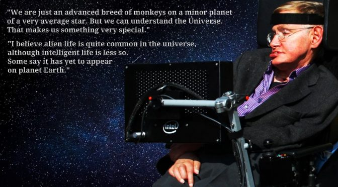 Stephen Hawking, a long history of defying the odds of the dice thrown him