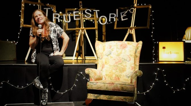 "True Stories Live – ""Miles to go"" at Norwich Arts Centre"