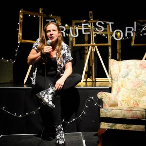 Katy Jon Went at True Stories Live, Miles To Go, Norwich Arts Centre