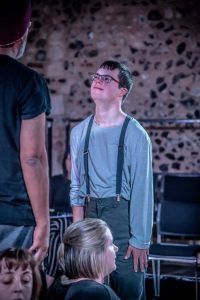 Total Ensemble present 'The Boy in the Lighthouse' at the 2018 Hostry Festival. Photo credit Simon Finlay Photography.