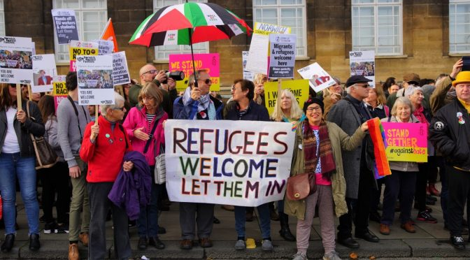 Refugees Welcome Let Them In