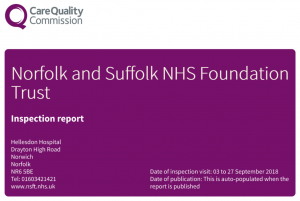 Norfolk and Suffolk NHS Foundation Trust CQC Report 2018