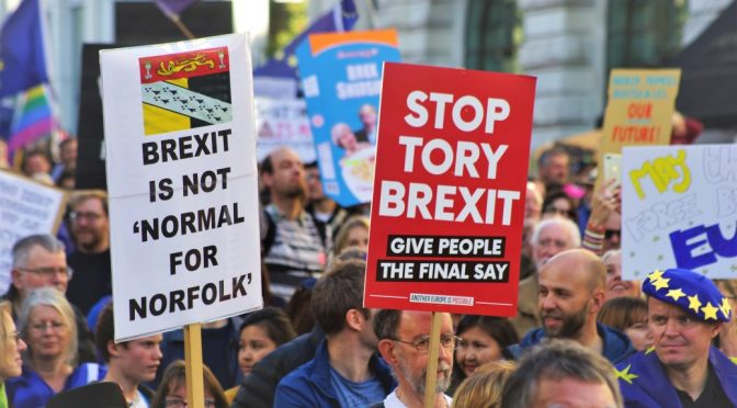 To Brexit or not to Brexit! Remain or Riot? A Democratic Impasse