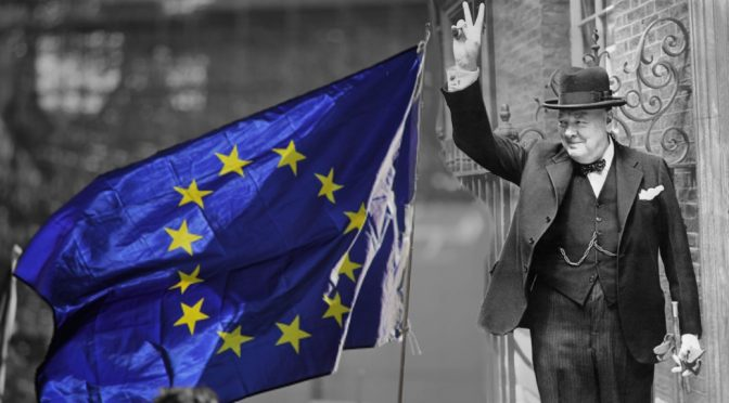 Winston Churchill and the EU United States of Europe