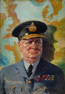 Winston Churchill in RAF uniform 1939-1946
