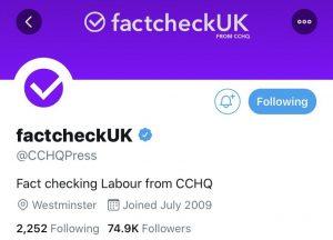FactCheckUK CCHQPress