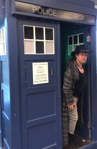 Katy Jon Went, playing Doctor Who, 2015