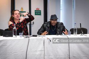 Chairing ClexaCon on Trans on TV